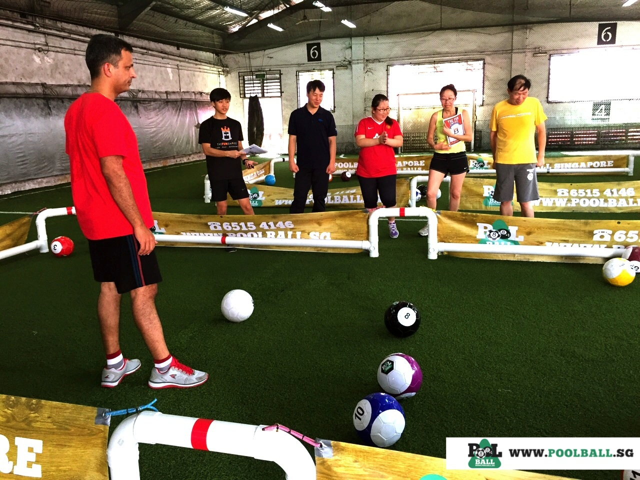 Team poolball singapore - Team building swimming pool games ...